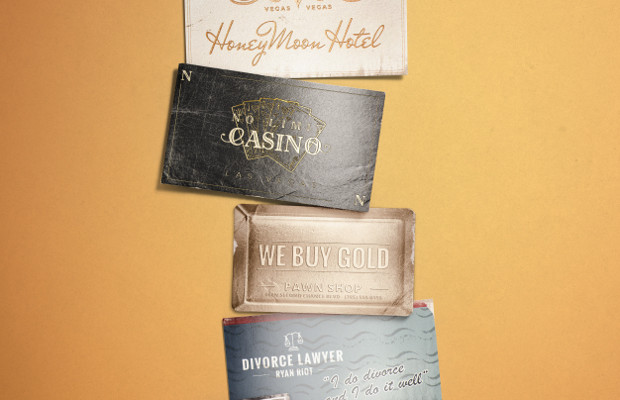 The Good Life Tells a Series of Stories Through Business Cards