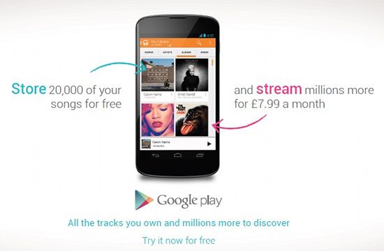 Isobar Campaign for Google Play Music