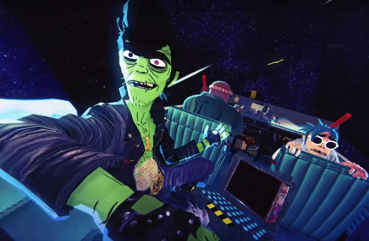 Gorillaz Crash an Out of This World Party in Latest G-Shock Film
