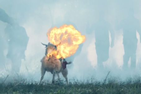 Fire Breathing Goat Saves the Realm in Fantastical Georgia Lottery Ad