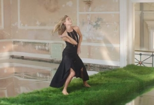 Cressida Bonas Struts On Musical Grass in Stylish New Film for Mulberry