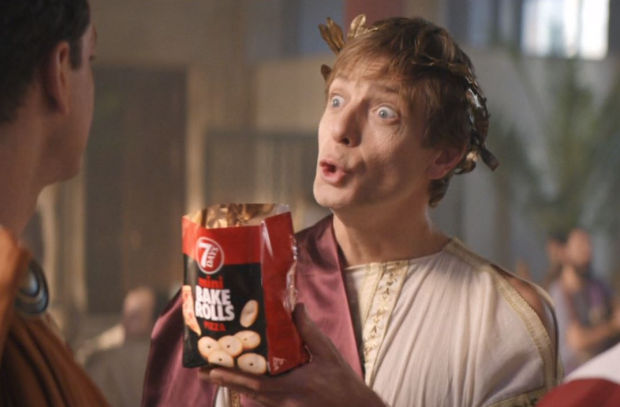 """""""Et Tu, Brutus"""" Gains New Meaning in Comedic Campaign for Bake Rolls"""