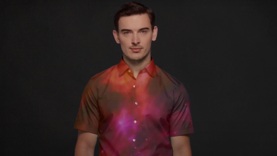 Harry Rosen's 'Green Screen Shirt' is the Ultimate Father's Day Gift for WFH Dads