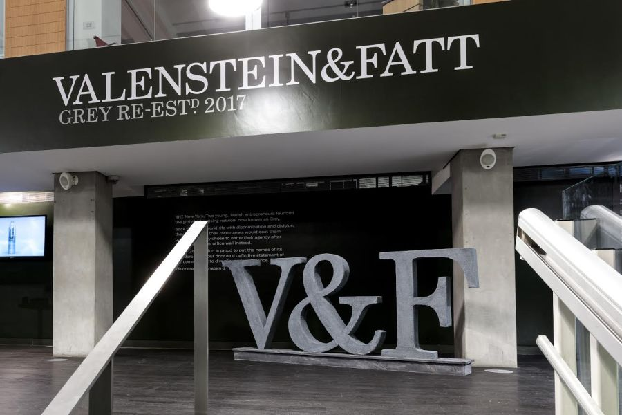 Grey London Pays Tribute to Jewish Founders with Rebrand to Valenstein & Fatt