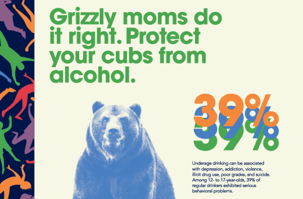 Childhood Drinking Ads Use Animal Imagery for Bold Awareness Campaign