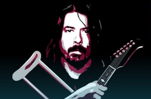 Give Dave Grohl Some Long-distance Love by Signing His Virtual Cast