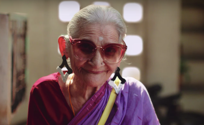 India's Answer to Iris Apfel Upcycles in Style