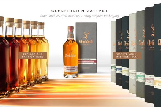 Create Your Own One-of-a-kind Whisky with Purple's Glenfiddich Gallery