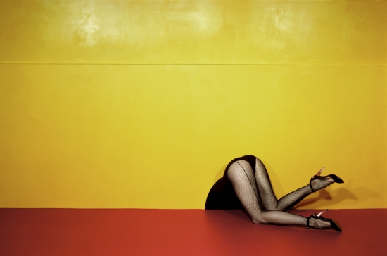 Purpose Brings Fresh New Identity to Guy Bourdin's Latest Exhibition