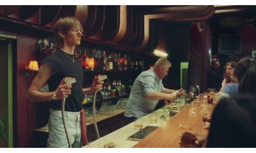 A Soda Gun-Slinger Shows Off his Moves in W+K's Southern Comfort Spot