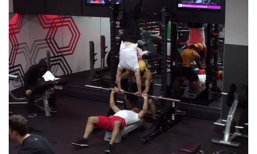 Secret Stuntman Invades Gym for Fitness First Campaign