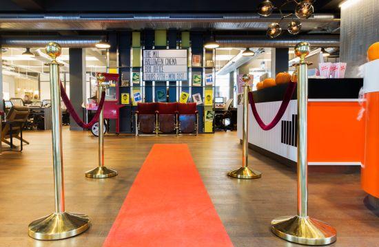 The Mill Transforms London Studio Into a Vintage Horror Cinema