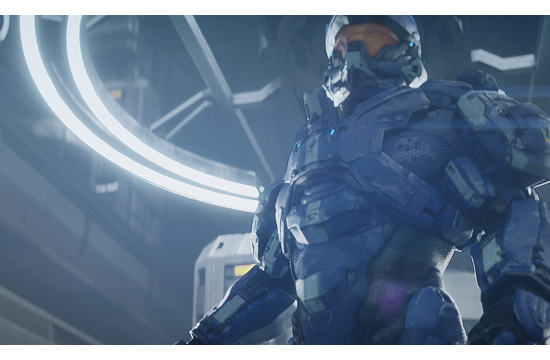 Axis CGI for Halo 4 Spartan Ops