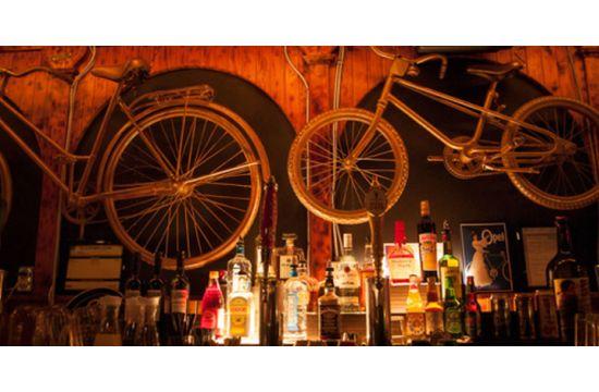 Open's Bike-themed Branding for Handlebar