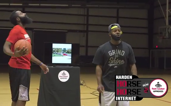 The Internet Plays Horse with Harden in BBDO NY's Foot Locker Challenge