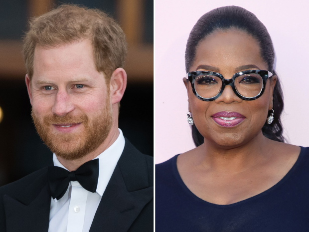 Oprah and Prince Harry Partner for a New Documentary Series Focusing on Mental Health