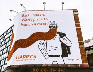 American Shaving Company Harry's Launches Debut UK Campaign