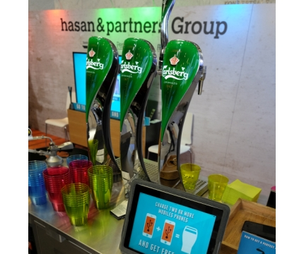 Hasan & Partners Mixes Cell Phones and Beer for Eurobest Networking