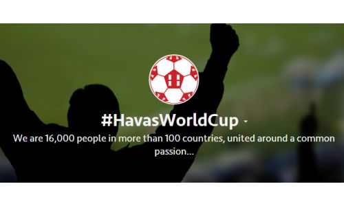 Havas Group Connects Its Employees With a #HavasWorldCup