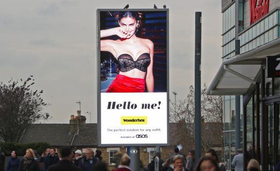 Wonderbra's Iconic 'Hello Boys' Ad Returns with a Twist