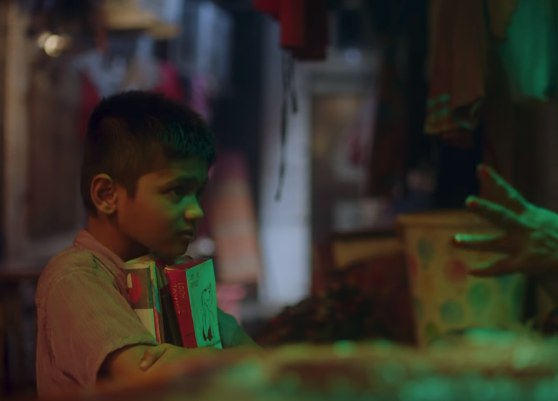 Child Has a Hunger for Knowledge in Film for the Open Door Project