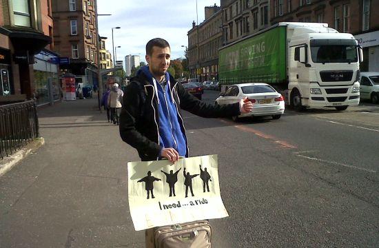 Hitchhiking Job Hunt at McCann Bucharest