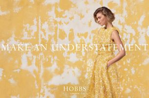 Hobbs and Droga5 London Make an Understatement in New Spring-Summer Campaign