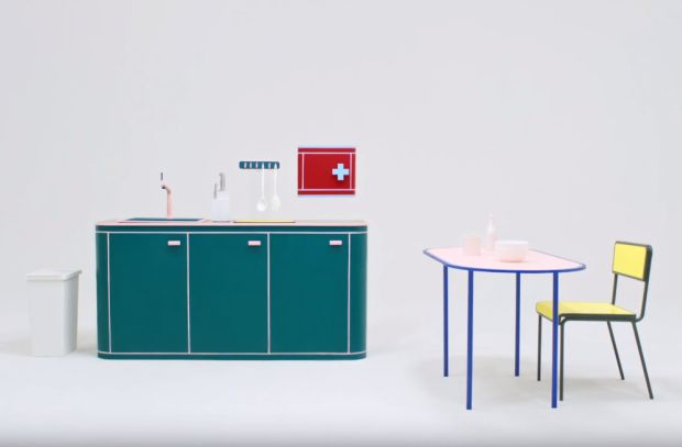 Can This Striking High-Contrast Furniture Design from Thai Homeware Brand to Help the Visually Impaired?