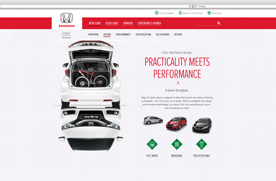 Honda Europe Digital Presence Launched by LBi