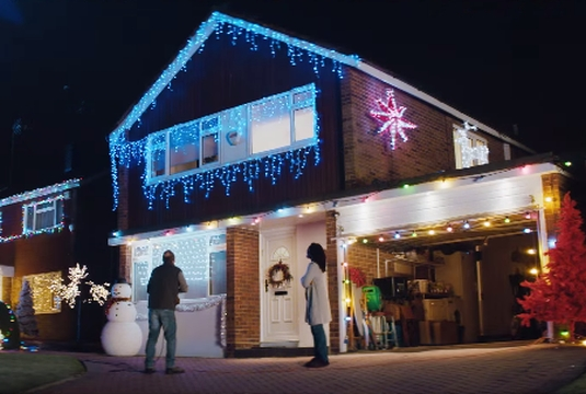 W+K London Lights Up the Night for Tesco's 2014 Christmas Campaign