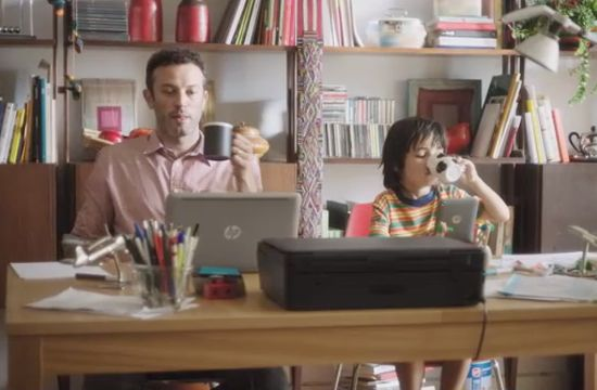 HP's 'Like Father Like Son'