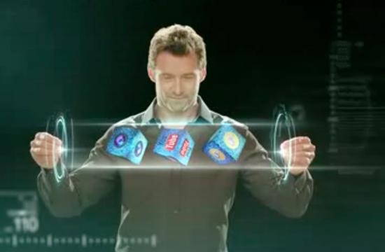 Hugh Jackman Juggles for Micromax