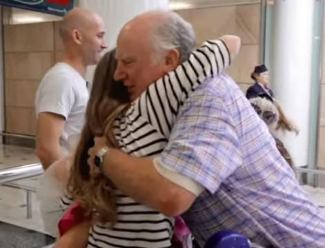 A Heartfelt Reunion Months in Making in New British Airways Spot