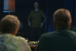 Arnold Furnace Beams Heartwarming Holiday Holograms for Jack Daniel's