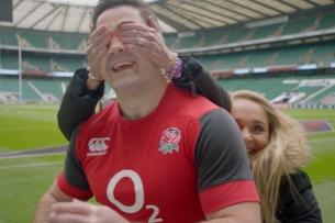 England Rugby Star Brad Barritt Gets a Lovely Surprise in Marriott Hotels Film