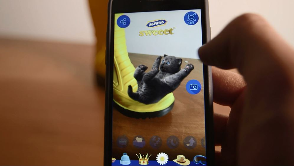 McVitie's Augmented Reality iKitten is the Sweeetest App Ever
