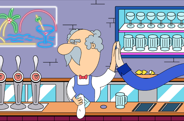 Three Zany Animated Spots Showcase iZettle's Easy-to-Use Tools for Small Businesses