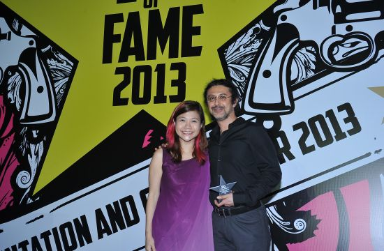 Y&R's Farrokh Madon at IAS 2013 Hall of Fame