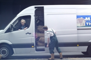 C4 Sales Teams with Mercedes-Benz Vans for Brand's First Ever TV Partnership