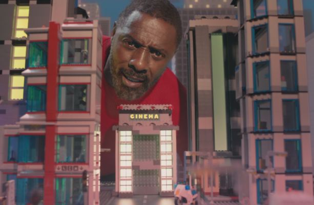 It's the '12 Days of Idris' in Sky Cinema's Christmas Spot
