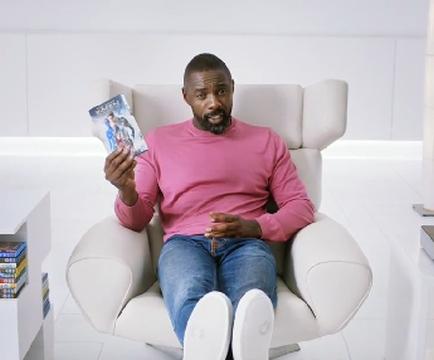 Idris Elba Kicks Back in Sky Store's New 'Buy & Keep' TV Campaign