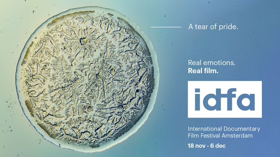 IDFA Puts Tears Under the Microscope for Stunning Campaign