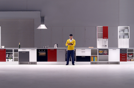 IKEA online dancer tests 'Party Proof Kitchens'