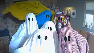 IKEA's Gatecrashing Ghosts Encourage You to Be a 'Maverick with Fabric'