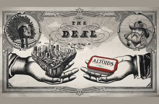 Altoids Re-writes History With The Help Of Blacklist Director's Flying V