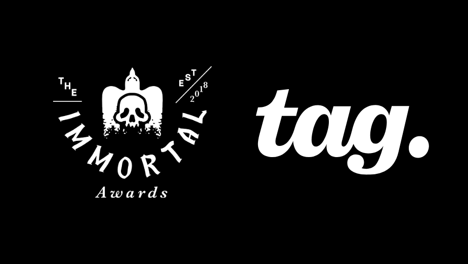 Tag Partners With The Immortal Awards to Become Official Channel Sponsor