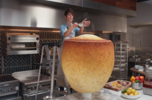 Dominique Crenn and Rick Barry Cook Up New Campaign for New York Life