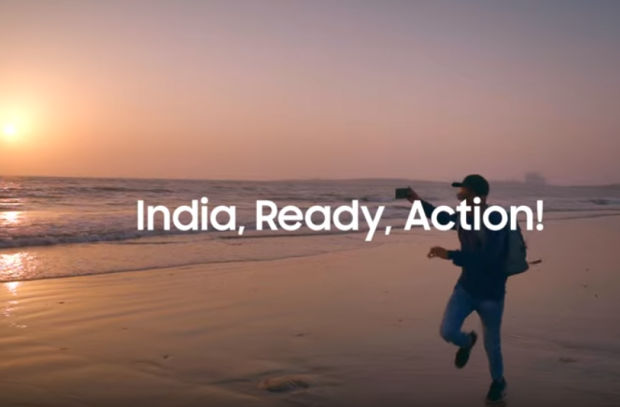 Samsung Launches #IndiaReadyAction Campaign to Show to the World the 'Real India'