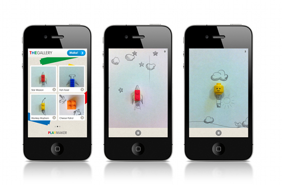 PlayMaker: LEGO launches iPhone Game App