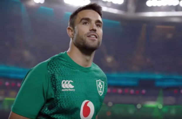 Vodafone Prepares for Ireland's Journey to Japan in Rugby World Cup Spot